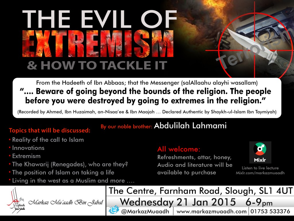 The Evil of Extremism